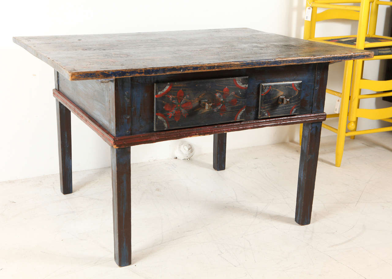 Painted Early 20th Century Occasional Table 2