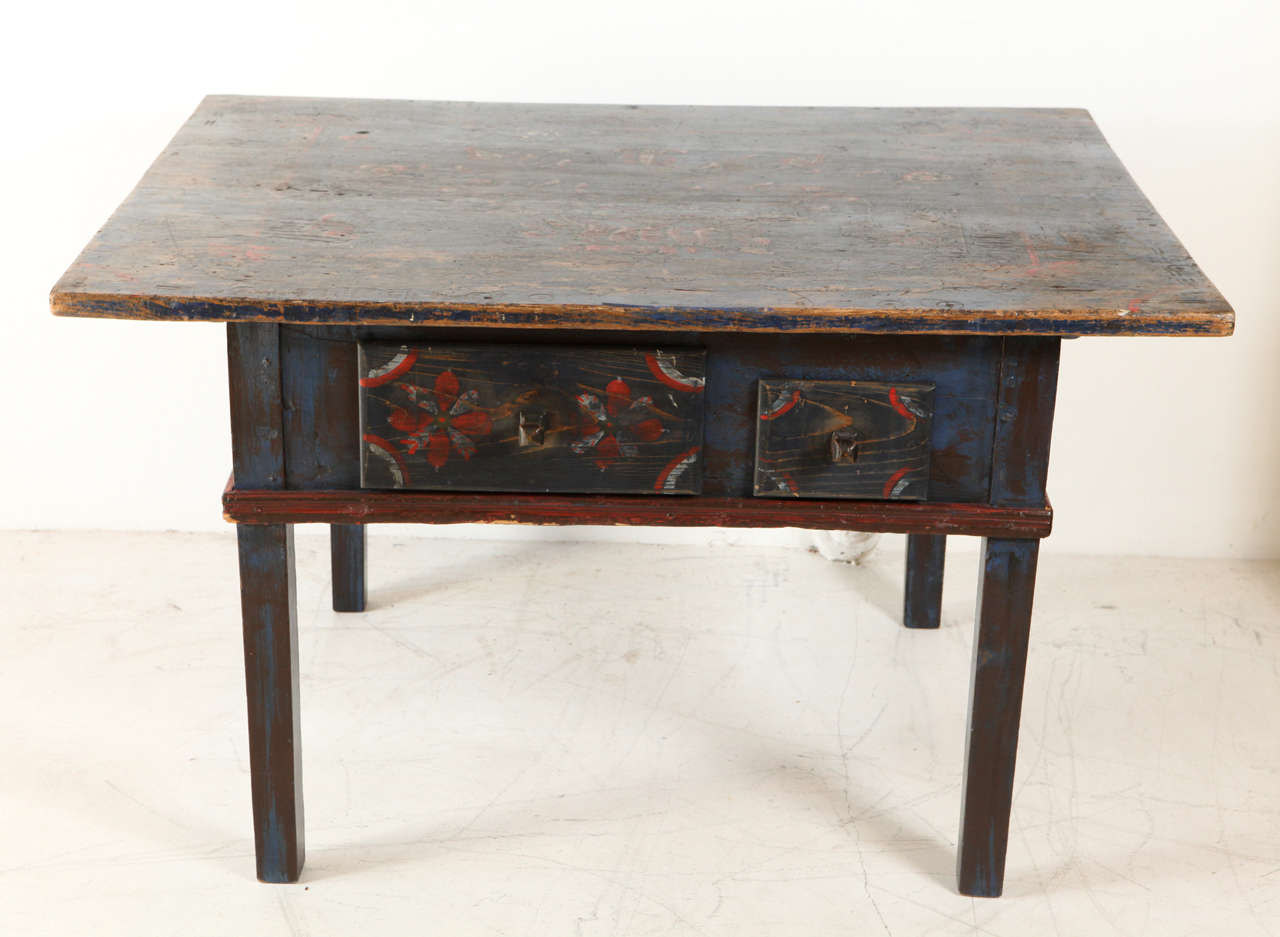 Painted Early 20th Century Occasional Table 3