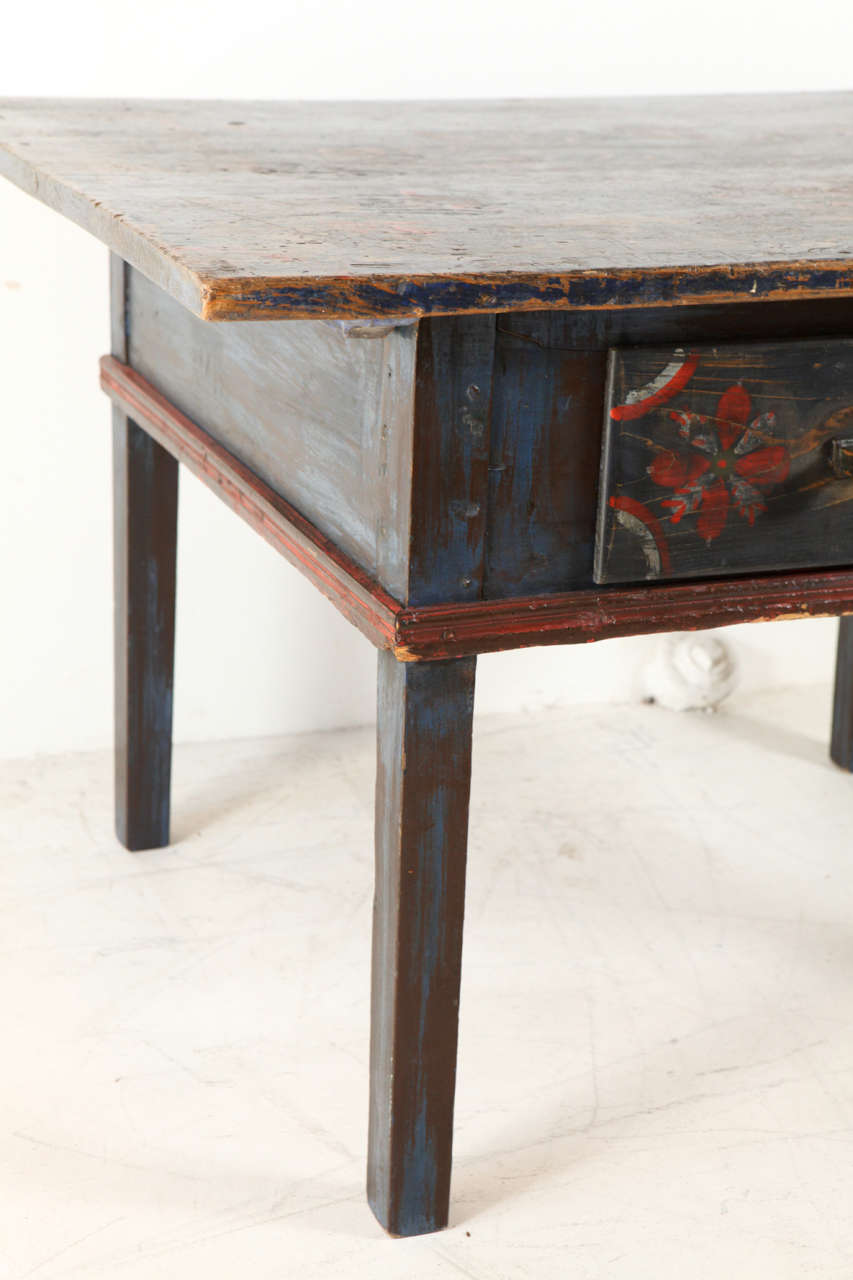 Painted Early 20th Century Occasional Table 4