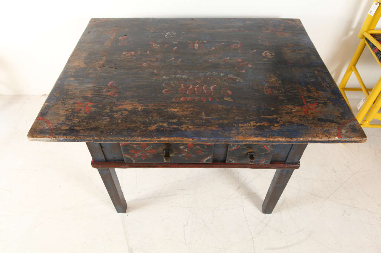 Painted Early 20th Century Occasional Table 5