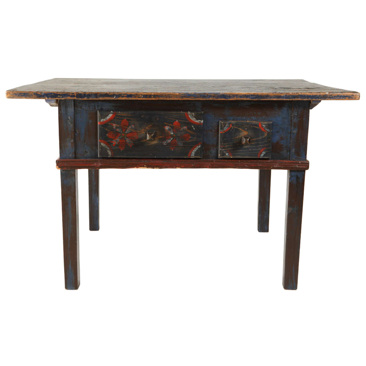 Painted Early 20th Century Occasional Table 1