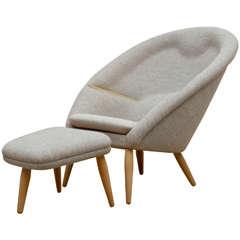 Nanna Ditzel, Oda Chair and Ottoman