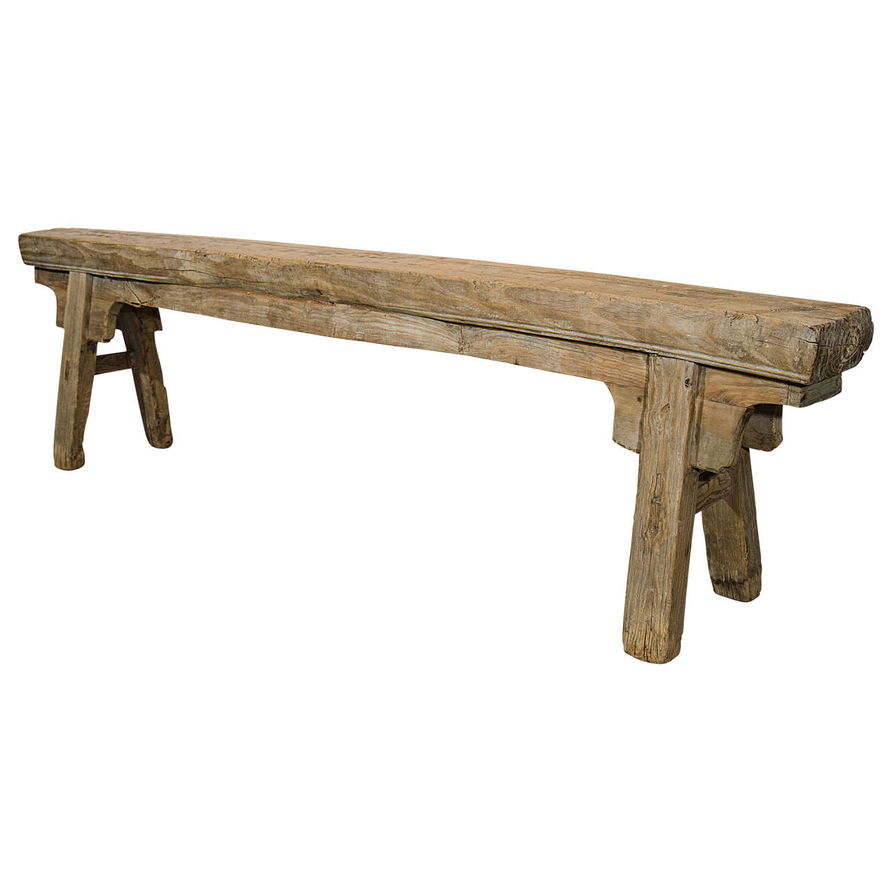 Antique Chinese Provincial Bench At 1stdibs