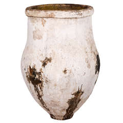 Large 19th Century Greek Olive Jar