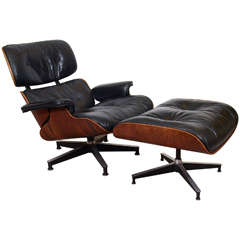 Charles and Ray Eames 670/671 Lounge Chair and Ottoman