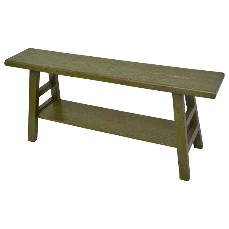 Chinese Bench Coffee Table At 1stdibs