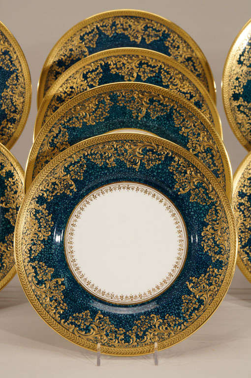 English Set of 12 Royal Doulton & Set of 12 Royal Doulton