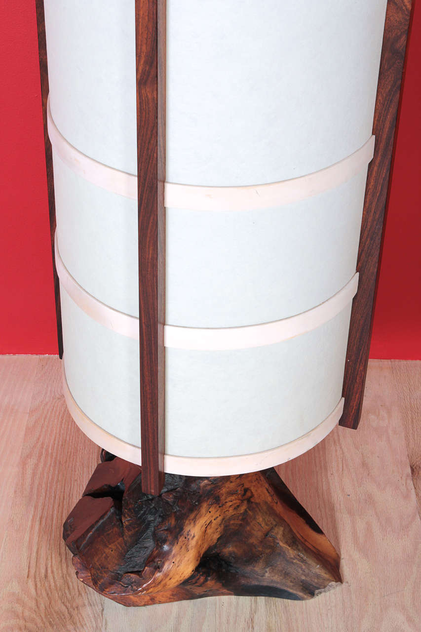 George Nakashima 1965 Quot Kent Hall Quot Floor Lamp For Sale At