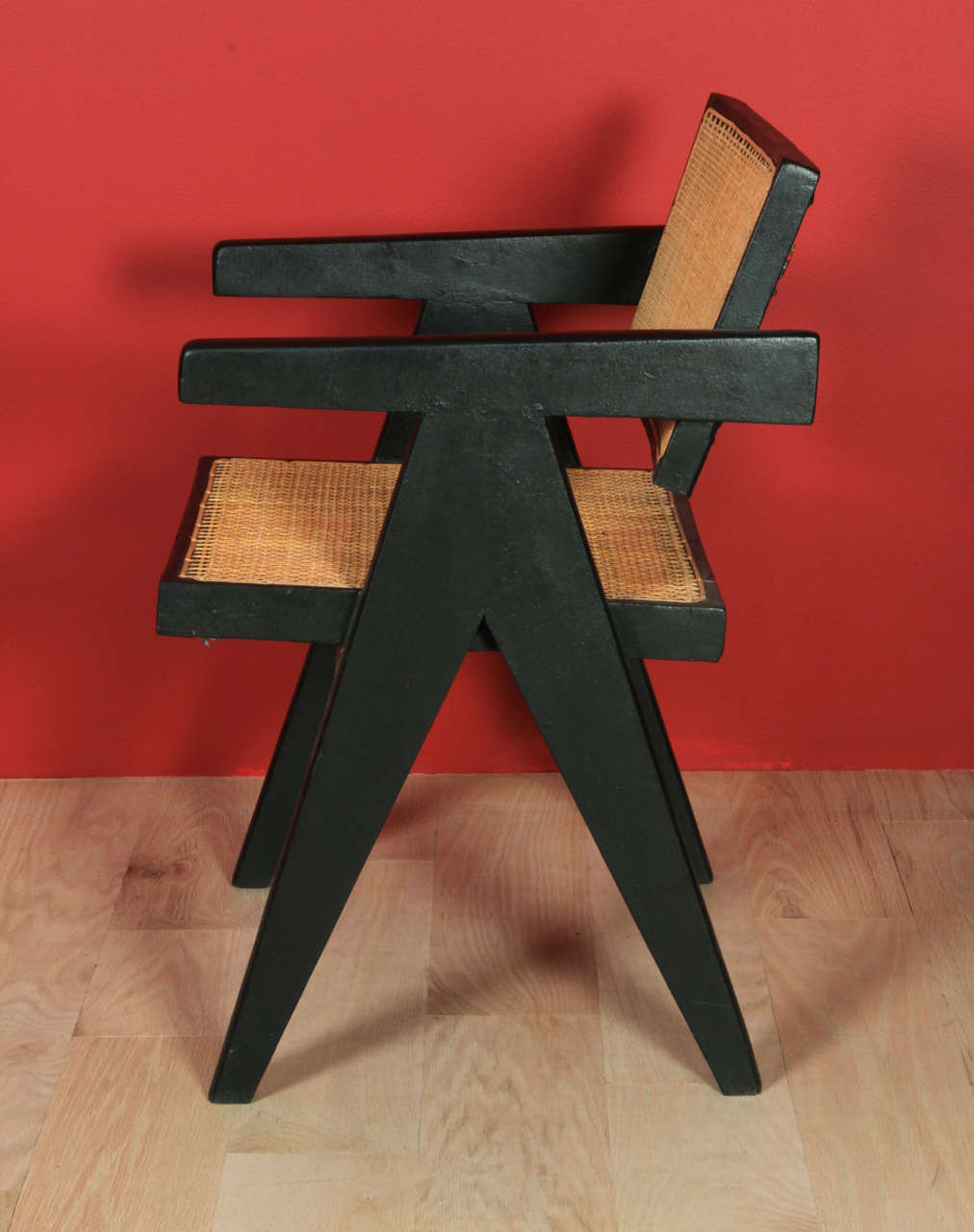 Indian Pierre Jeanneret, Armchair For Sale
