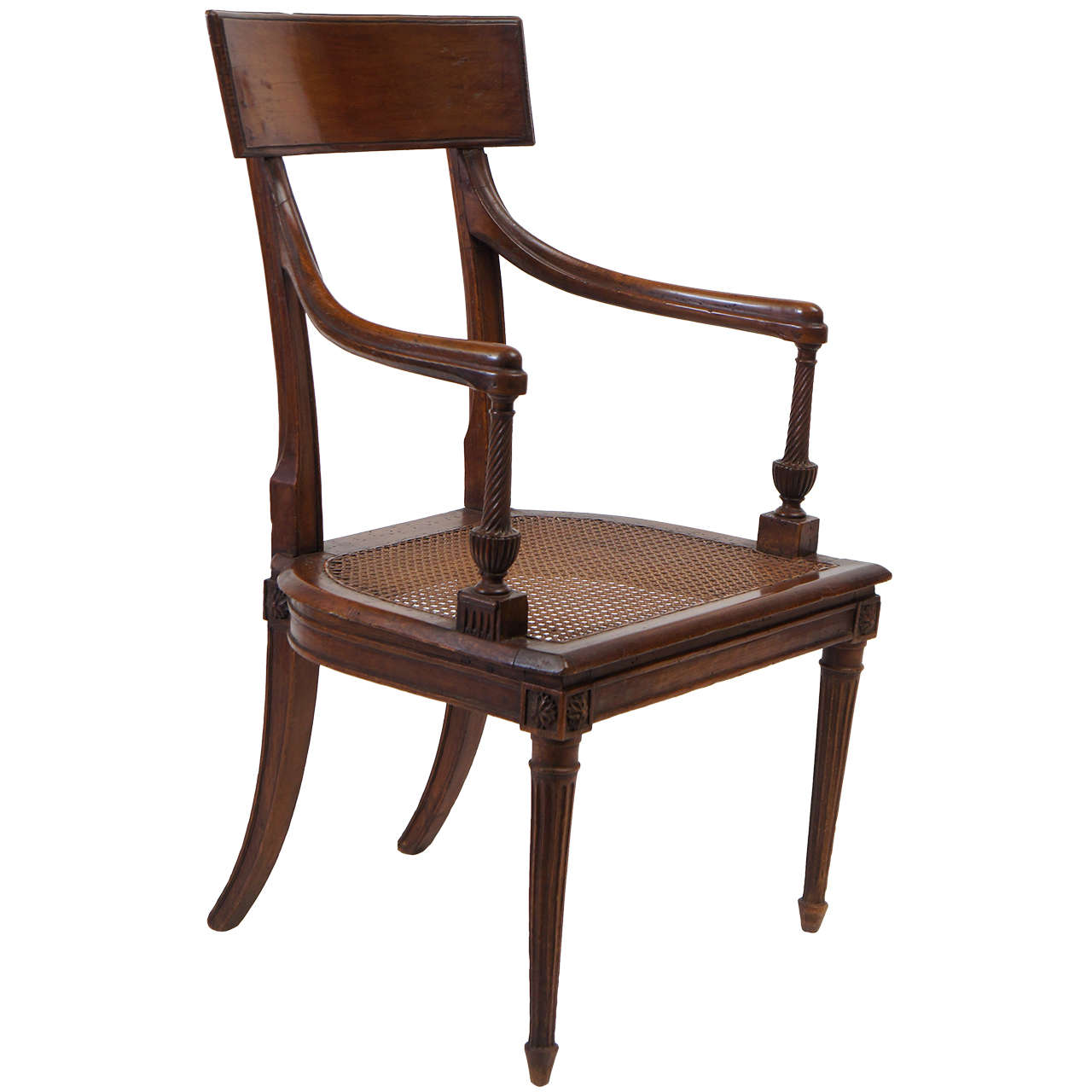 Louis XVI Fauteuil or Armchair Attributed to Georges Jacob, France, circa 1785
