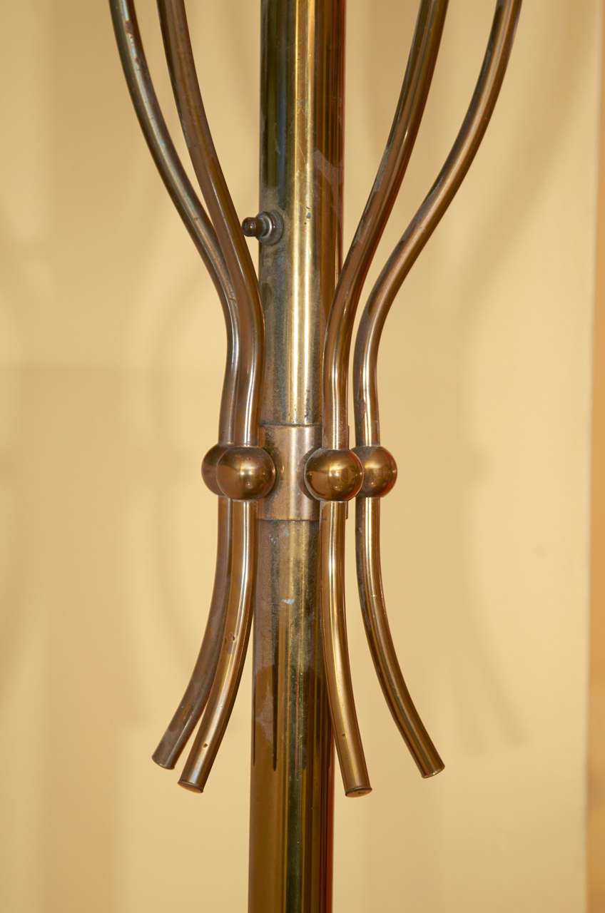 Graceful Floor Lamp by Angelo Lelli for Arredoluce 3