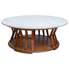 Wormley for Dunbar Style Walnut Coffee Table, 1960s, USA