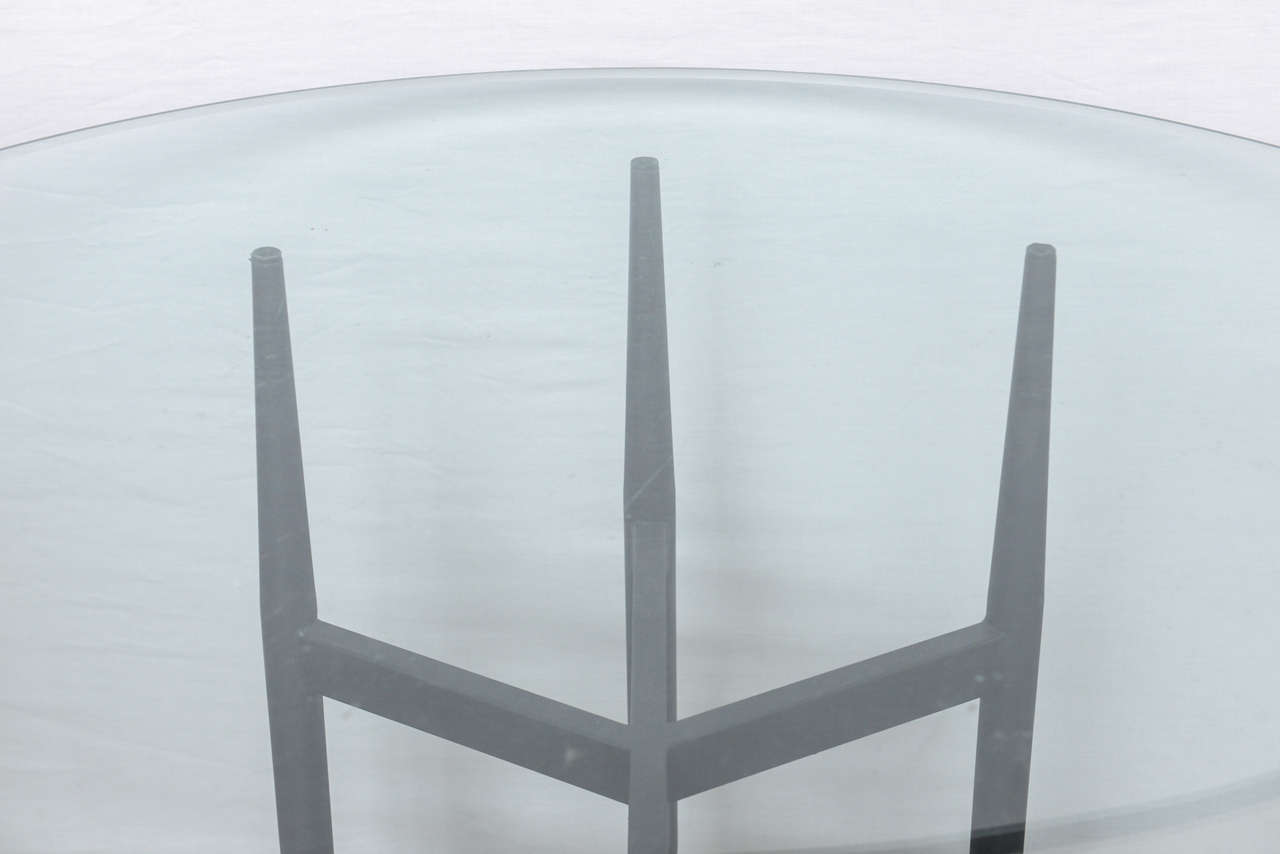 In the style of Gio Ponti Dining Table, 1960s at 1stdibs