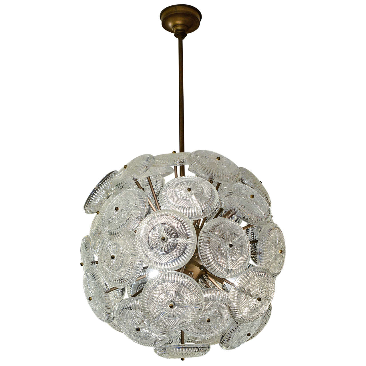 Small sputnik style french chandelier at 1stdibs small sputnik style french chandelier for sale aloadofball Gallery