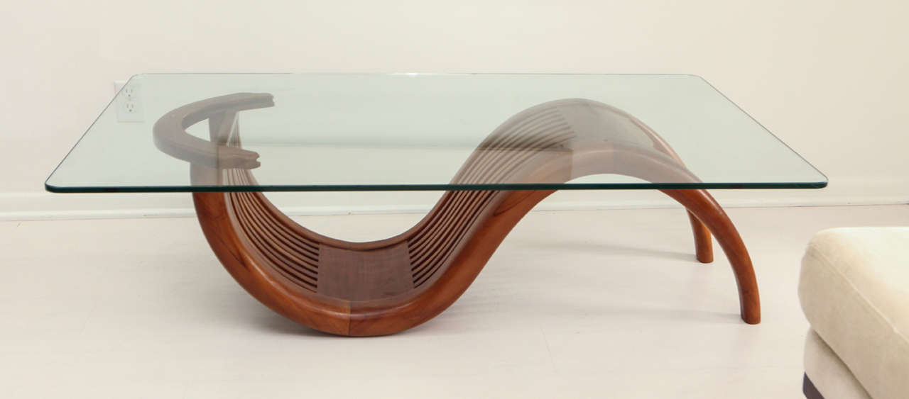 Vintage 60s 70s california modern coffee table at 1stdibs for Coffee tables 70s