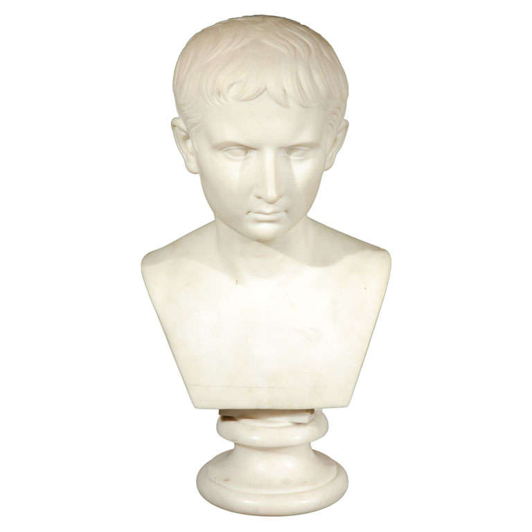19th Century Bust of Napoleon For Sale