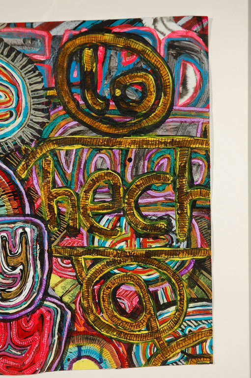 Mixed Media Painting by Alexandra Grant For Sale 1