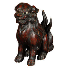 Foo Dog with Glass Eyes