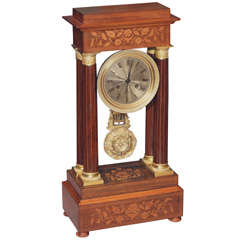 French Louis-Philippe Inlaid Clock