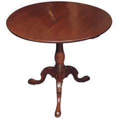 Late 18th Century English Tilt-Top Table