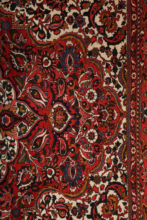 Persian Bakhtiari Carpet in Handspun Wool and Vegetable Dyes, circa 1920 For Sale 3