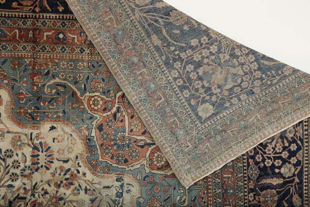 Persian Kashan Mohtasham Carpet, circa 1870 For Sale 4
