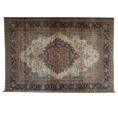 Persian Kashan Mohtasham Carpet, circa 1870