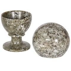 Swedish Kolmard Marble Pieces
