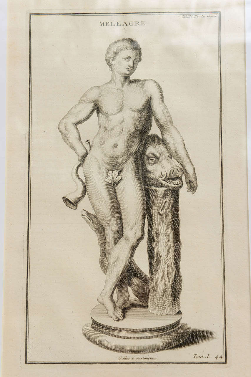 Early 18th Century Meleager Son of Althaea For Sale