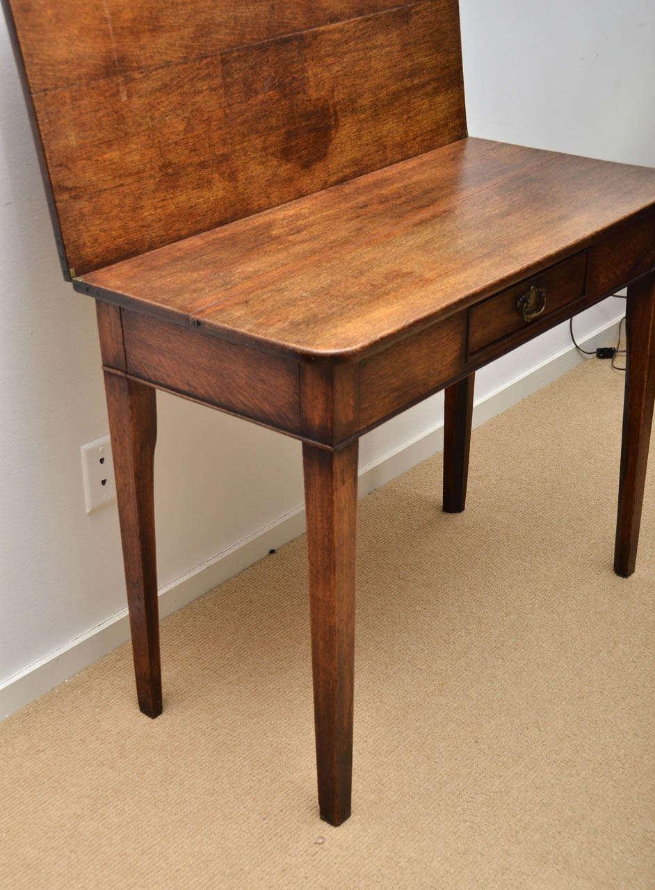 19th century gateleg folding tea table for sale at 1stdibs - Folding gateleg table ...