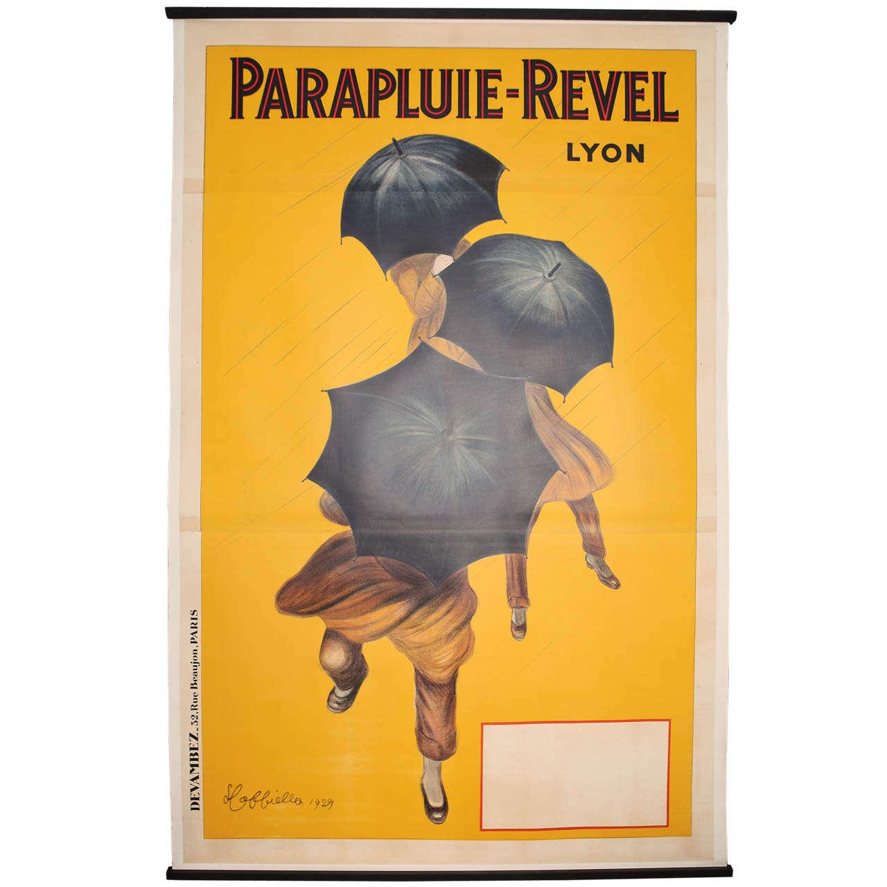 Monumental 1929 Original French Art Deco Cappiello Poster