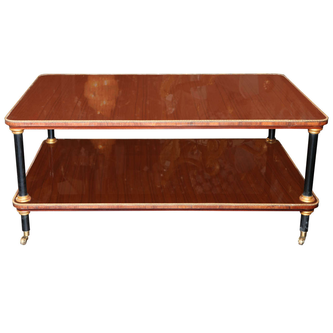 Elegant American Deco Coffee Table At 1stdibs
