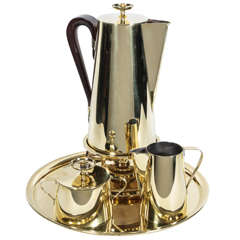 Tommi Parzinger Brass Coffee Service