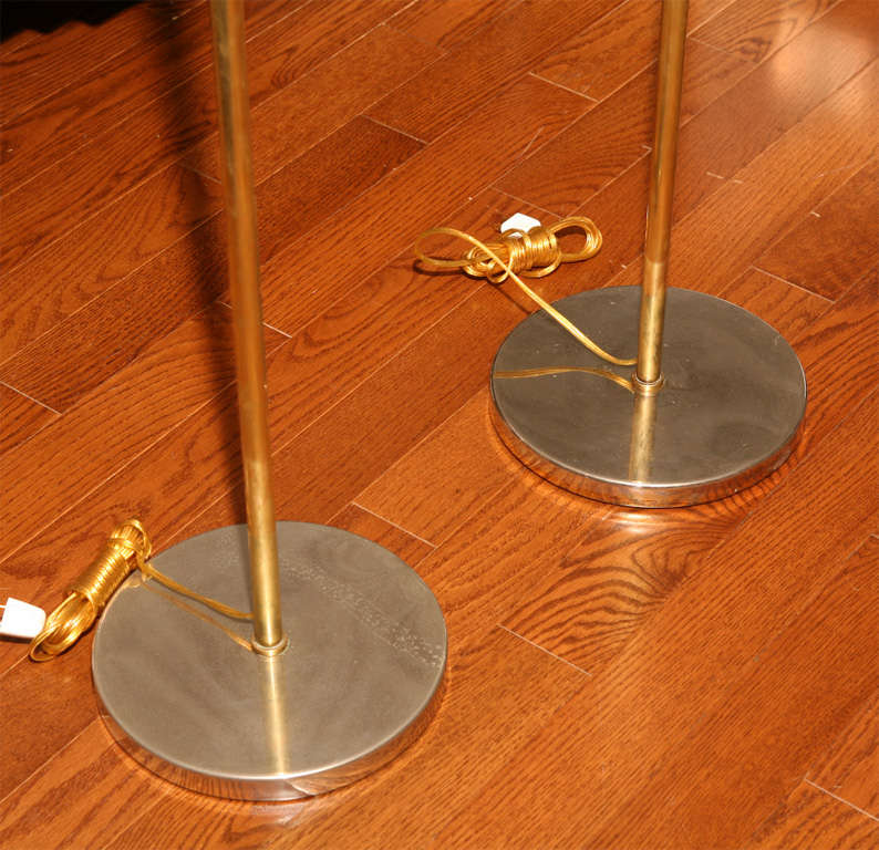 Pair Of Brass Koch And Lowry At 1stdibs
