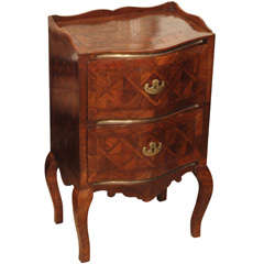 Sicilian 18th C Walnut Commode