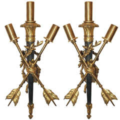 Louis XVI Style Bronze Sconces