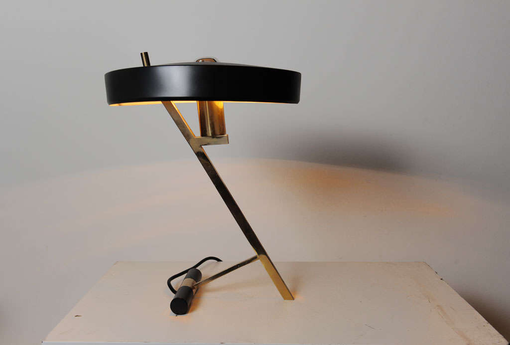 Louis Kalff For Philips Z Shape Table Or Desk Lamp At 1stdibs