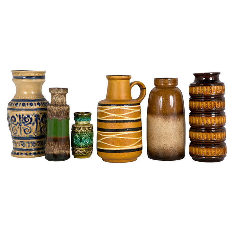 Collection Of West German Pottery Vases at 1stdibs : x from www.1stdibs.com size 768 x 768 jpeg 51kB