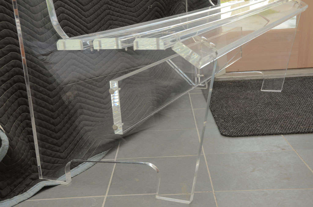 Lucite Bench For Sale 3