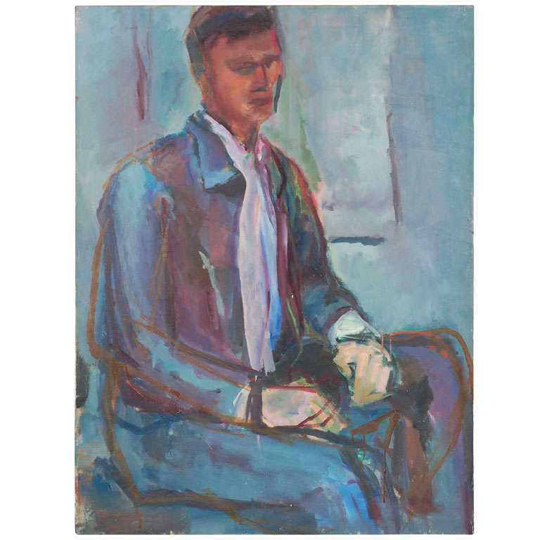 Portrait Painting, circa 1960
