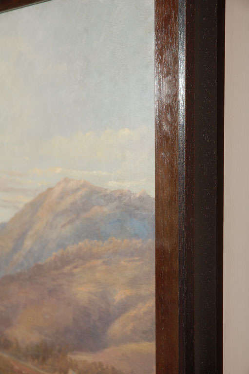 Scottish Mountain Landscape Painting, Circa 1800 For Sale 4
