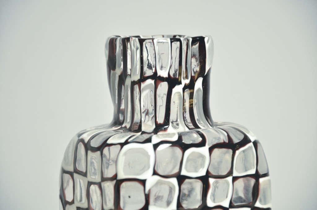 """Vase serie """"Occhi """" by Tobia Scarpa for Venini Murano 4"""