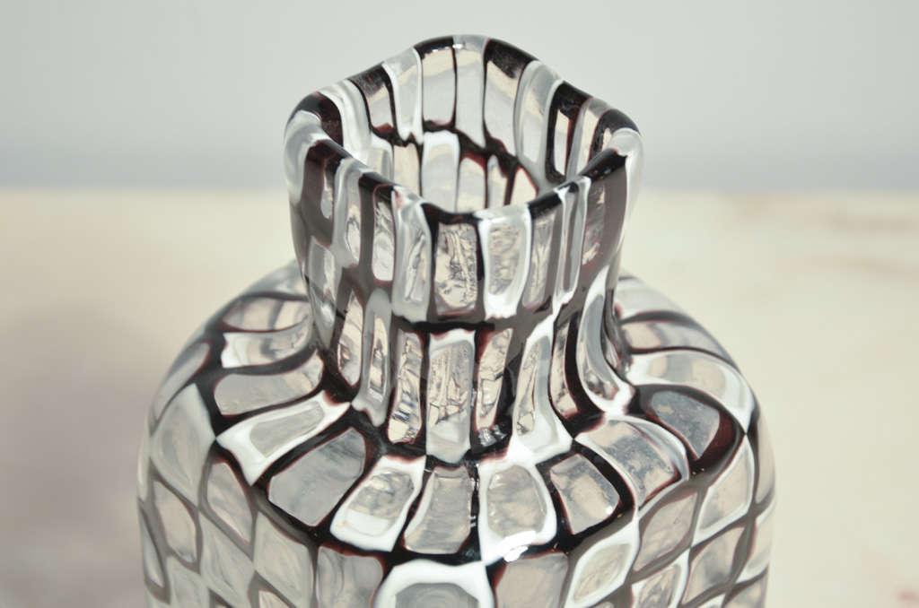 """Vase serie """"Occhi """" by Tobia Scarpa for Venini Murano 6"""