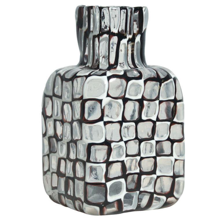 """Vase serie """"Occhi """" by Tobia Scarpa for Venini Murano 1"""