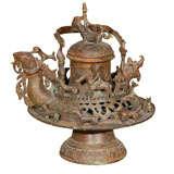 Antique Peruvian Incense Burner