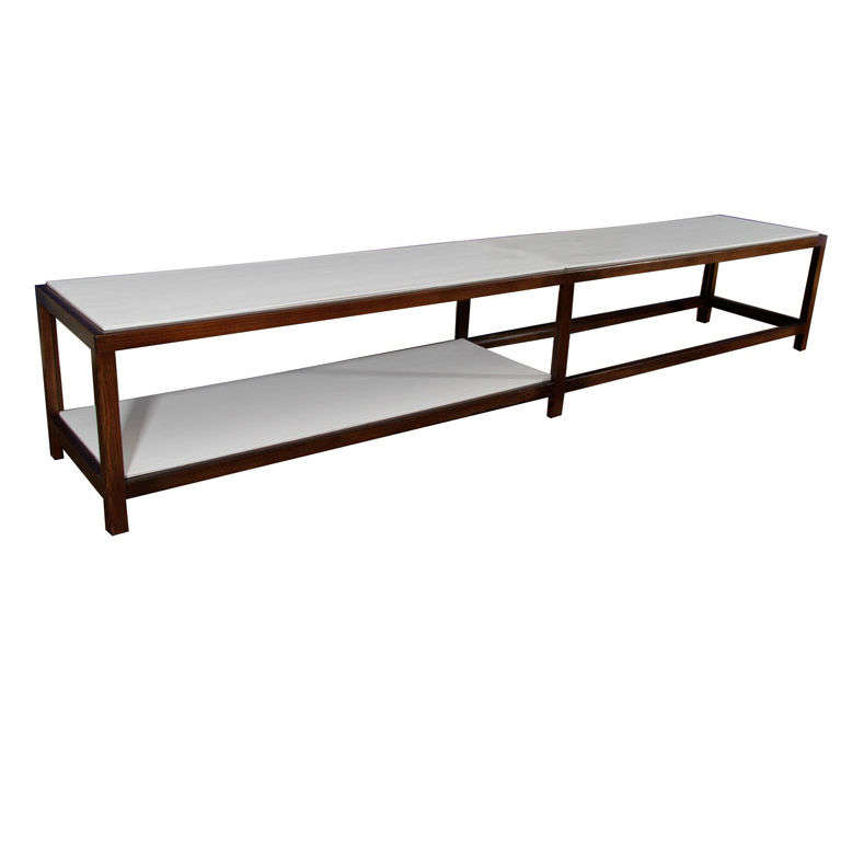 Extra Long Edward Wormley Table Mfg Dunbar At 1stdibs