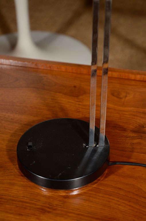 Adjustable Black Task Lamp By Lightolier For Sale At 1stdibs