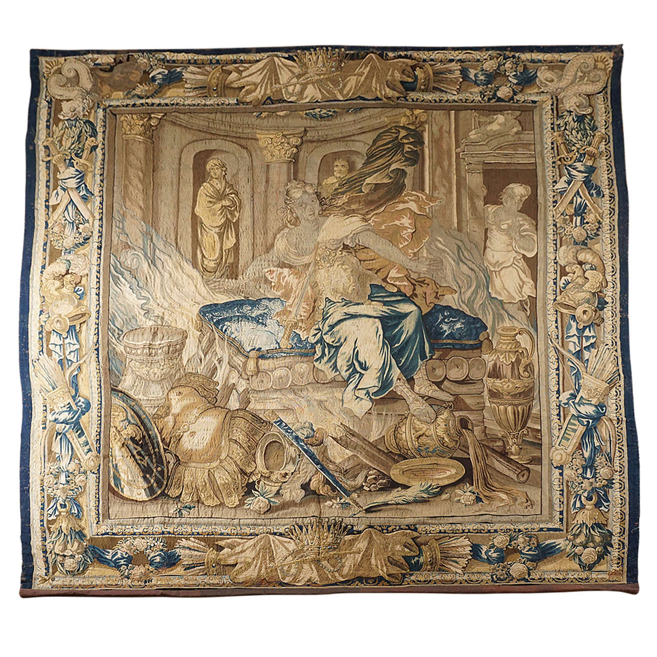 Royal Aubusson Mythological Tapestry Second Half 17th