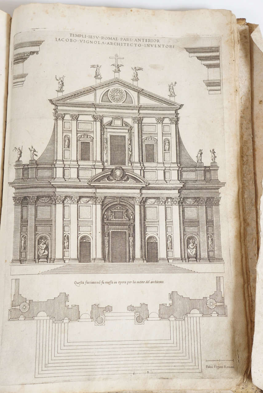 Vignola canon of the five orders of architecture 1617 for 5 orders of architecture