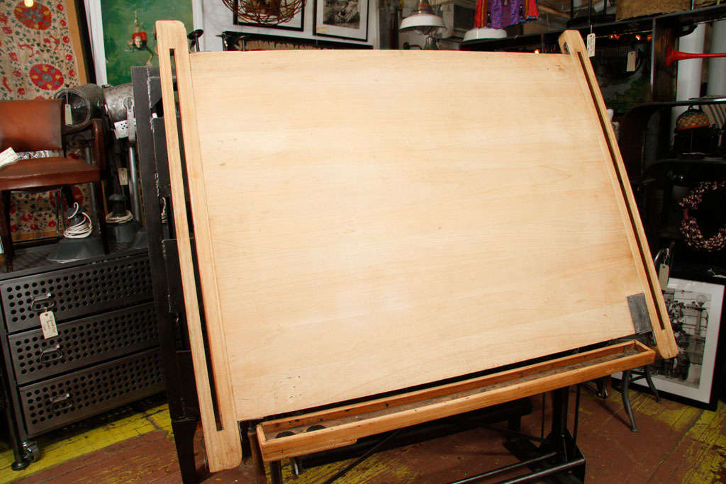 berger et fils french drafting table at 1stdibs